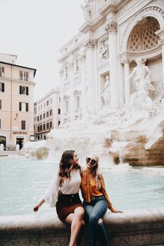 Don't know how they managed to get this photo because the Trevi Fountain is always packed, but I love it without all the people in the background! Rome Photography, Travel Photography, Travel Pictures, Travel Photos, Travel Around The World, Around The Worlds, Foto Best Friend, Photo Voyage, Italy Pictures