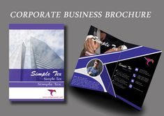 A pack of free business brochure templates by Tech Trainee. You won't find a part of any templates that is locked to edit & personalize. Corporate Business, Business Brochure, Design Desk, Brochure Template, Polaroid Film, Templates, Flyer Template, Stencils, Booklet Template