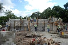 Construction is under way for the Special-Needs Home in Guatemala.