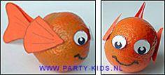 traktaties: Beschrijving van Nemo visjes van mandarijnen met werktekening