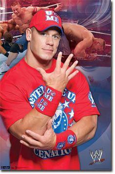WWE - John Cena 11 Poster