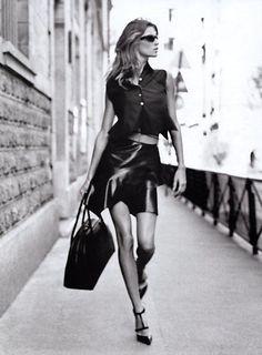 Gisele fashion shoot