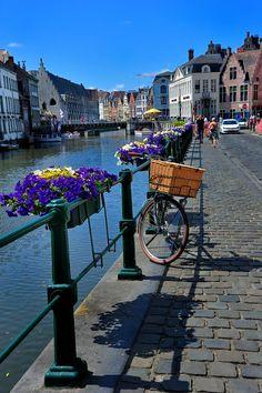 Canal, Ghent, Belgium : phyllis - besttravelphotos