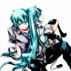 Vocaloid - Miku and Mikuo