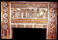 Sarcophagus of Ayia Triada  We know little about Minoan religion, but it is clear that religion was an important aspect of Minoan life. There were only minor male deities; the goddesses were supreme. There are several distinguishable goddess identities - a goddess associated with animals, sometimes called the Mistress of the Animals, a snake goddess who typically has snakes wrapped around her arms, a household goddess, and others.