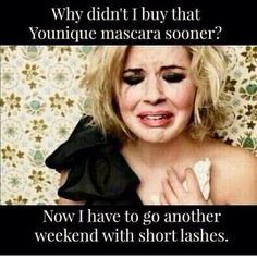 Don't let another weekend go by without having 3D Fiber Lash Mascara!! You will quickly fall in love and will not be able to leave the house without it!!! GET YOURS NOW!!!! https://www.youniqueproducts.com/MekaylaHarp/party/387381/view