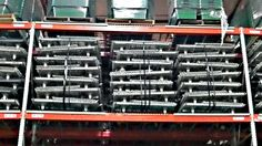 """Nashville wire mesh deck ready to ship. All sorts of sizes, channel supports, and mesh measurements. Popular: 48"""" D x 58"""" W w/3 CH., 1"""" x 2"""" Mesh. Contact Speedrack Midwest."""