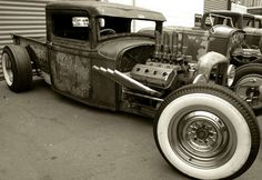 Rat Rod Truck | ... representative of the so called rat rod style rat rods are retro