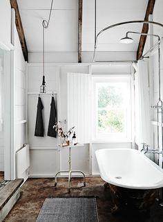 rustic bathroom | the estate trentham