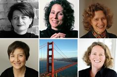 The Architect's Take interviews five prominent San Francisco women architects about the challenges and rewards faced by women in architecture today. Left to right, from upper left: Anne Fougeron, Kate Stickley, Karin Payson, EB Min, and Amy Eliot.