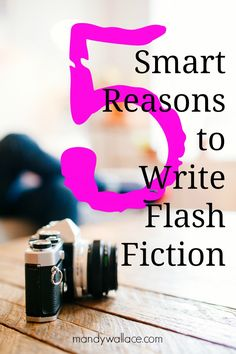 How do you tell a story in only 300 words? Ask a flash fiction writer. Flash fiction islike short fiction. Only shorter. These writersare the masters of brevity. The lords of implication. The god...