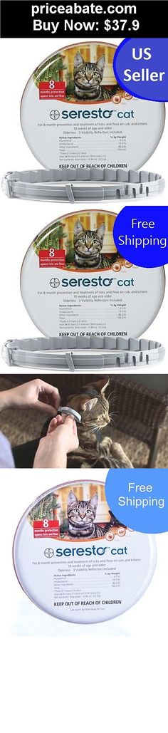 Animals-Cats: SERESTO FLEA TICK COLLAR for CATS 10 weeks and older Free shipping NEW BAYER - BUY IT NOW ONLY $37.9
