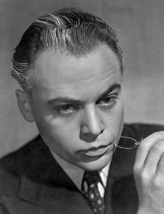 """Herbert Lom actor, (""""The Pink Panther"""" films) was born, Herbert Charles Angelo Kuchacevich ze Schluderpacheru on 11 Sep. 1917 in Prague, Bohemia, Austria-Hungary (now Czech-Republic). Old Hollywood Style, Vintage Hollywood, Tv Actors, Actors & Actresses, Famous People That Died, Cyril Cusack, Herbert Lom, Actor Secundario, Supporting Actor"""