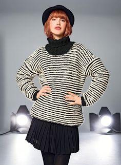 Cat. 15/16 - #137 Oversize sweater | Buy, yarn, buy yarn online, online, wool, knitting, crochet | Buy Online