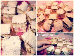 prajitura pufoasa cu rabarbar Dukan Diet, Cheese, Desserts, Cream, Tailgate Desserts, Deserts, Postres, Dessert, Plated Desserts