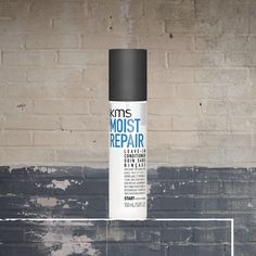 Spray the weightless KMS MOISTREPAIR Leave-in Conditioner in towel-dried hair and don't rinse it out. Use as a styling prep and comb through. #kmshair #stylematters