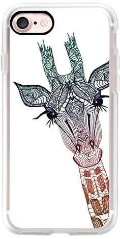 Casetify iPhone 7 Classic Grip Hülle - GIRAFFE $ 40 by Monika Strigel #Casetify