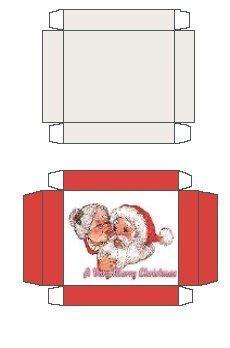 Dollhouse Miniature Tutorials, Miniature Crafts, Miniature Christmas, Dollhouse Miniatures, Christmas Barbie, Christmas Minis, Christmas Boxes, Xmas, Printable Christmas Ornaments
