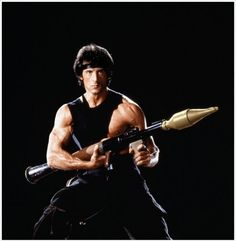 Rambo: First Blood Part II - Promo shot of Sylvester Stallone Clint Eastwood, Hero Hunk, Rambo 2, Sylvester Stallone Rambo, Terry Lee, Silvester Stallone, Westerns, Nostalgia, First Blood
