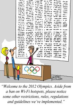 London Olympics: Better Read the Fine Print [COMIC]
