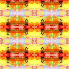Rainbow Jesus  fabric by winterblossom on Spoonflower - custom fabric http://www.spoonflower.com/designs/1796766