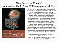 Check it out . a great compilation of artists who work with crochet as a fine art medium Work Today, Felt Art, Medium Art, Check It Out, Needle Felting, The Twenties, Artists, Crochet, Crocheting