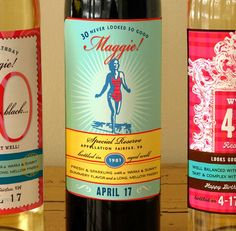 fun wine labels