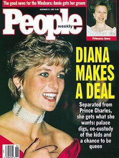 photo | Princess Diana Cover, The British Royals, Princess Anne, Princess Diana