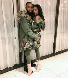 Chris and Alisha Cute Couples Goals, Couples In Love, Couple Goals, Couple Relationship, Cute Relationships, Beautiful Love, Beautiful Couple, Couple Romance, Bae Goals