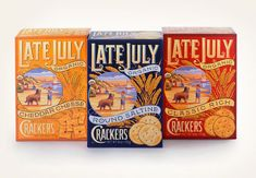 Saw these in the store the other day...I really like the retro, organic feel of this type. By Louise Fili Ltd.