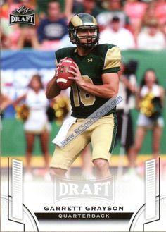 2015 Garrett Grayson, Colorado State Itm#CF2036 1 Leaf Draft #24 http://www.rcsportscards.com/colorado-state-football-cards.html