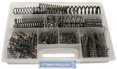 Jouset | Strings, compression springs, Draw springs - Jousilajitelmat, Puristusjouset, Vetojouset. Roppakaupalla jousia. Virtasenkauppa - Verkkokauppa - Online store.