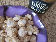 Adventures in Food: Gingerbread- Cookie Butter Puppy Chow