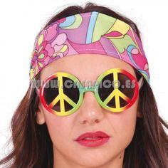 Gafas Hippie. #casapico #disfracescasapico #gafas #disfraz #hippie