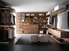 #vestidor de madera #closet #dream