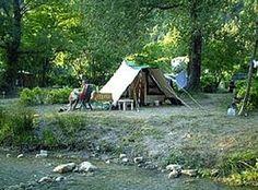 Aire Naturelle de Camping le Moulin de Cost Buis-les-Baronnies - Drôme Tourisme