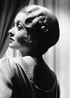 Constance Bennett (1904-1965) by George Hurrell.... ..Uploaded By  www.1stand2ndtimearound.etsy.com