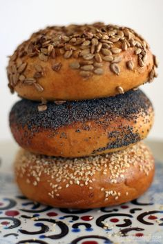 I love bagels. Why do factories churn out non-bagels that are shaped the same - can't they just as easily make real bagels? Dunno, but I'm making my own! Thanks, Cenk!