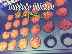 21 Day Fix Buffalo Chicken Meatballs! Click Picture for Recipe! <3