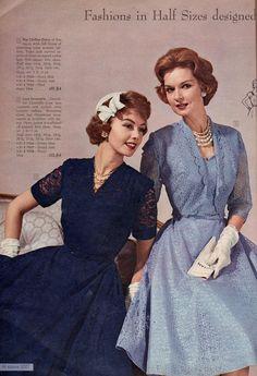 1960s Fashion, Vintage Fashion, Ladies Fashion, Vintage Style Dresses, Vintage Outfits, 60s Patterns, Frock Dress, Vintage Classics, Christmas Catalogs