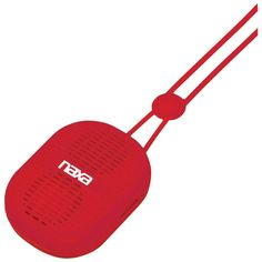 Naxa Necklace-design Bluetooth Speaker (red) - MNM Gifts