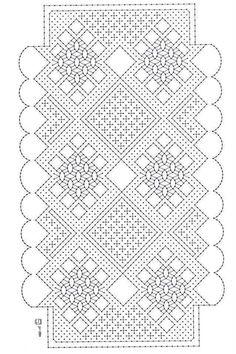 Cartera Hairpin Lace Crochet, Crochet Motif, Crochet Shawl, Crochet Edgings, Bobbin Lace Patterns, Bead Loom Patterns, Lace Earrings, Lace Jewelry, Bobbin Lacemaking