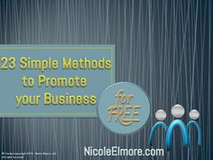 http://NicoleElmore.com Strategic Marketing Solutions We are a full-service marketing agency and we help our clients reach their maximum marketing potential.  …