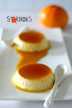 Arabafelice in cucina!: Creme caramel al mandarino