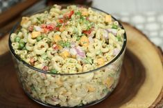 This Easy Macaroni Salad recipe is the perfect side dish to bring to Summer BBQ'. This Easy Macaroni Salad recipe is the perfect side dish to bring to Summer BBQ's, parties and mo Easy Greek Salad Recipe, Easy Pasta Salad Recipe, Greek Salad Recipes, Snack Recipes, Cooking Recipes, Southern Macaroni Salad, Creamy Macaroni Salad, Best Macaroni Salad, Crockpot Baked Beans