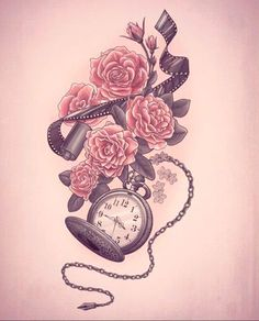 """I'm going to get this as a half sleeve maybe with the quote """"the trouble is; you think you have time"""""""