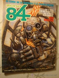 ZONA 84 - Nº 41 TOTAIN EDITOR - EL COMIC DE LA FANTASÍA Y LA CIENCIA FICCIÓN