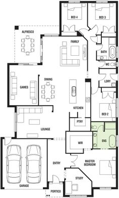 Decor house plans on pinterest new home designs house for Davis homes floor plans