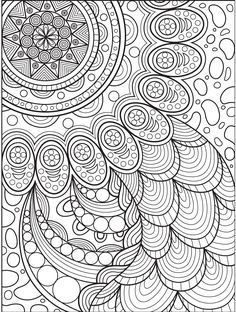 Abstract coloring page on Colorish: coloring book app for adults by GoodSoftTech