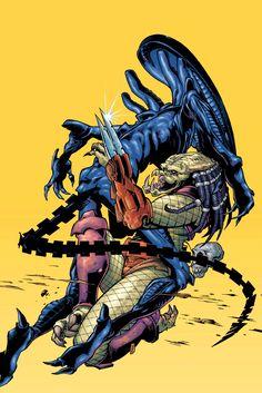 AVP: Xenogenesis cover art